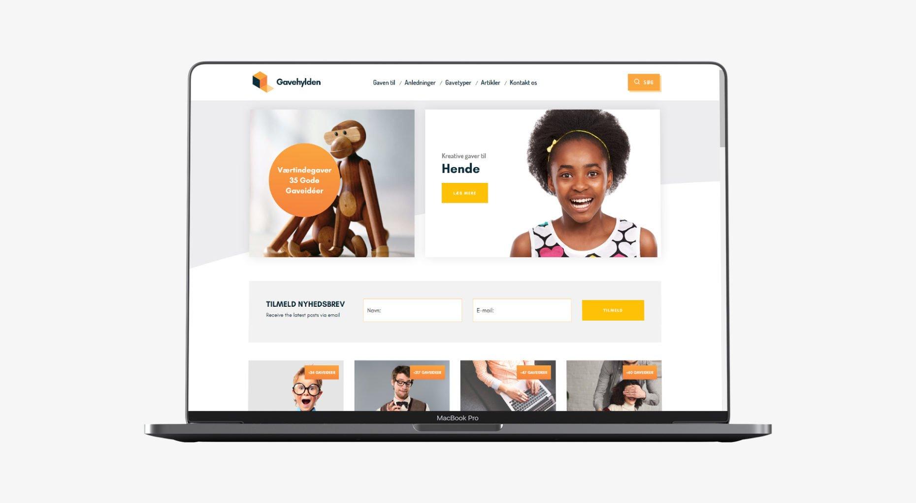 lennartc webdesign - gavehylden.dk