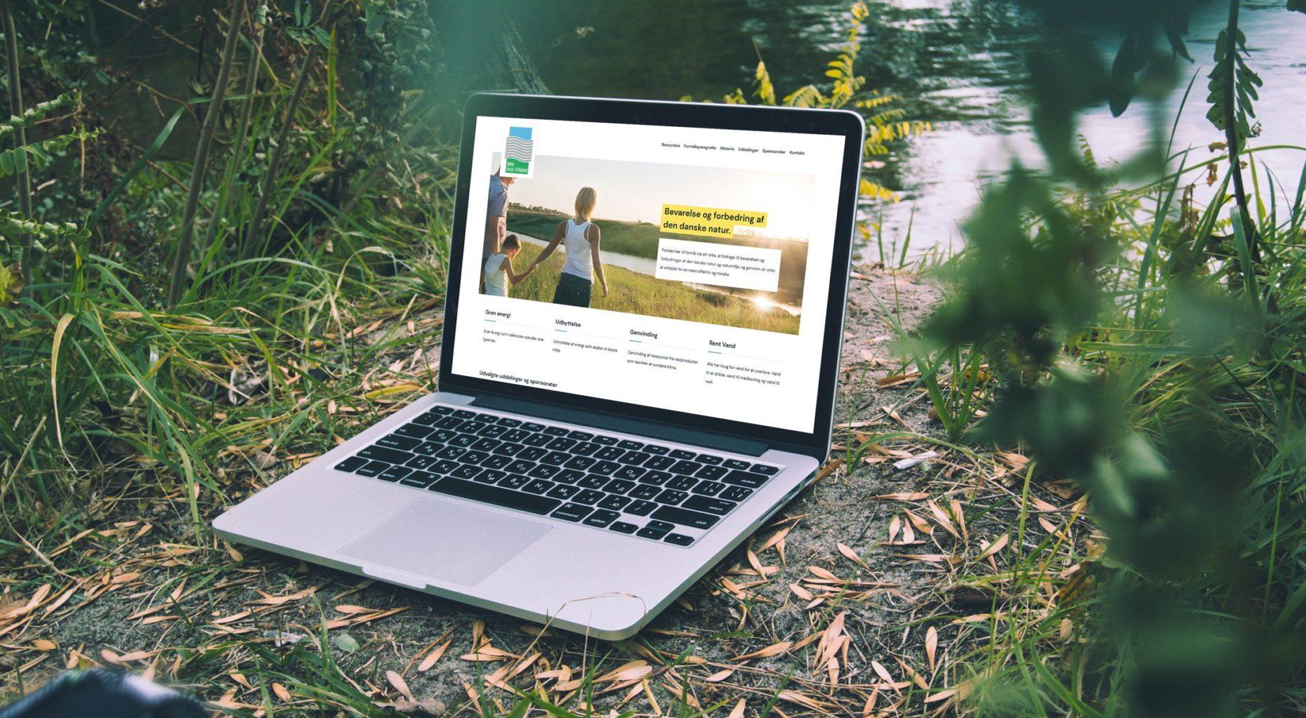 energifond.dk case - Webdesign Lennart C