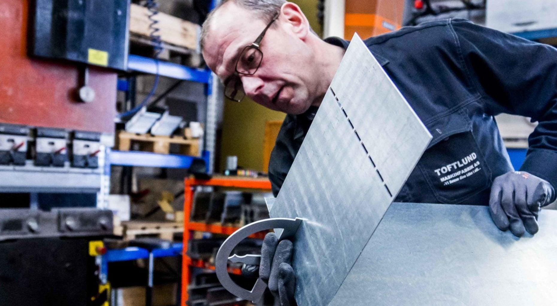 Webdesign Lennart C - Toftlund maskinfabrik Case